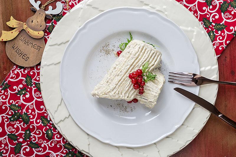 Tronchetto Di Natale Sale E Pepe.Tronchetto Salato Di Natale